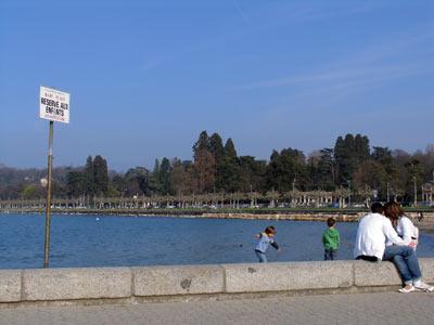 Imágenes de Suiza: 'Playa para niños' (Ginebra)